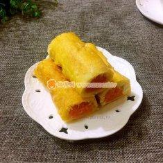 红薯吐司卷的做法