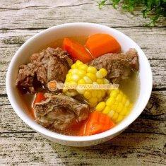 脊骨玉米胡萝卜汤的做法