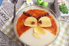 愤怒的小鸟牛奶果味冻的做法