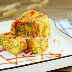 韩式鸡蛋卷的做法