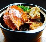 螃蟹粉丝煲的做法视频