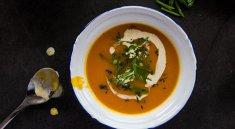 椰香南瓜汤的做法视频