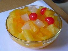 自制水果罐头