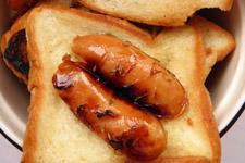微波炉烤面包的做法