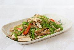 青椒炒豆腐干