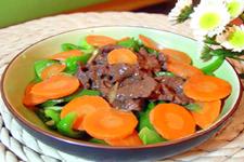 红萝卜炒肉的做法大全