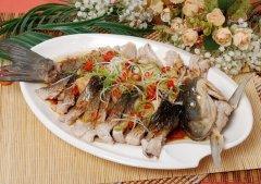 清蒸草鱼的做法