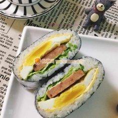 米饭三明治的做法