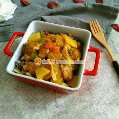 肉片土豆盖浇饭的做法