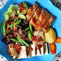 黑胡椒煎鸡胸肉(减脂餐)的做法图解7