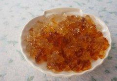 秋天吃桃胶的好处 桃胶有毒吗