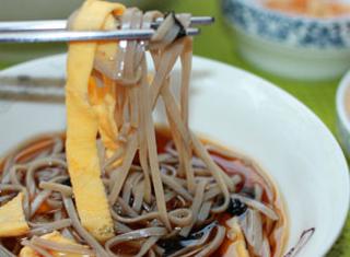 日式荞麦冷面的家常做法