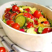 黄瓜西红柿沙拉的做法