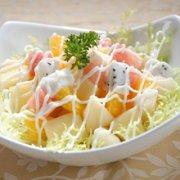 菠萝沙拉的做法