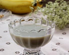 苹果香蕉豆浆的家常做法