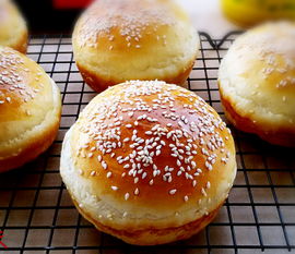 汉堡面包的家常做法