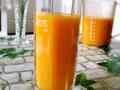 香橙芒果浓汁的做法