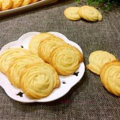 奶油曲奇饼干的做法