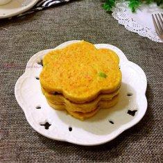 胡萝卜鸡蛋饼的做法