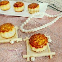 广式月饼(豆沙馅)的做法