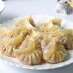 白菜紫甘蓝猪肉饺子