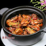砂锅黄焖鸡的做法