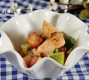 三文鱼牛油果沙拉的家常做法