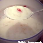 牛奶枸杞炖银耳