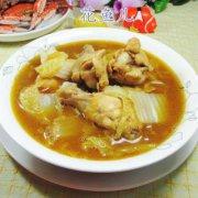 咖喱白菜鸡翅根 的做法