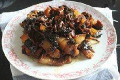 梅干菜烧五花肉的家常做法