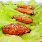 芝香蜜汁鸡翅
