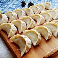 韭菜肉馅饺子的做法