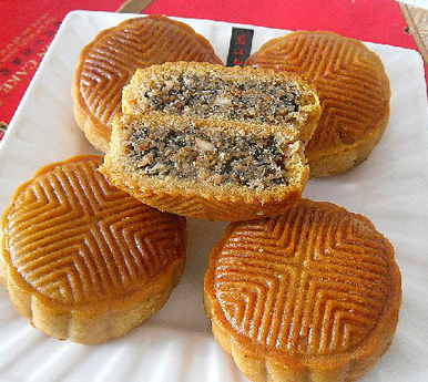 五仁月饼的家常做法