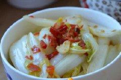 剁椒白菜梗的家常做法