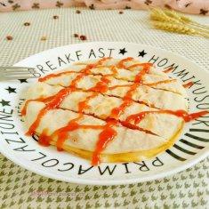 饺子皮版的菜饼的做法