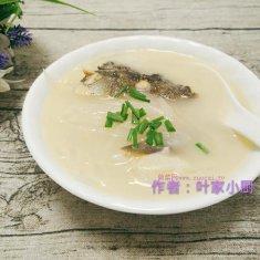 萝卜鱼头汤的做法