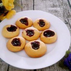 蓝莓酱小饼干的做法
