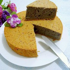 紫薯戚风蛋糕的做法