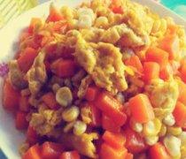 【胡萝卜炒鸡蛋的做法】胡萝卜炒鸡蛋怎么做好吃_胡萝卜炒鸡蛋的营养