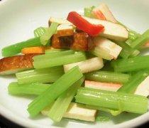 【水芹菜炒香干】水芹菜炒香干的做法_水芹菜炒香干的营养价值
