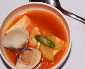 韩式海鲜大酱汤的家常做法