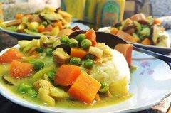 创意咖喱鸡肉饭的做法