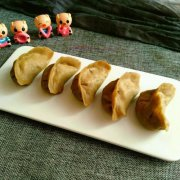 荞麦面大蒸饺的做法