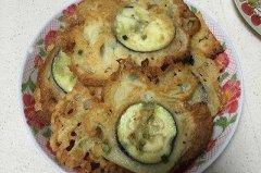 茄子饼饼的做法