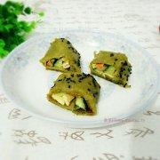 黑芝麻芹菜卷的做法