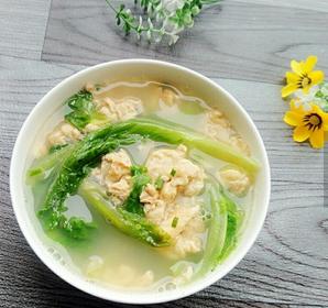 生菜鸡蛋汤的家常做法