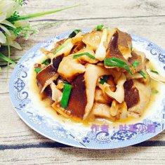 清炒香菇的做法