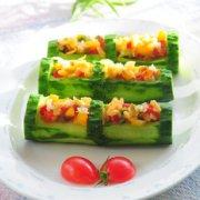 翠竹榨菜福满心的做法