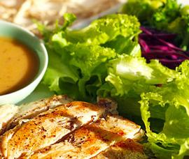 酱汁鸡胸沙拉的家常做法
