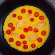 蕃茄虾仁煎蛋的做法